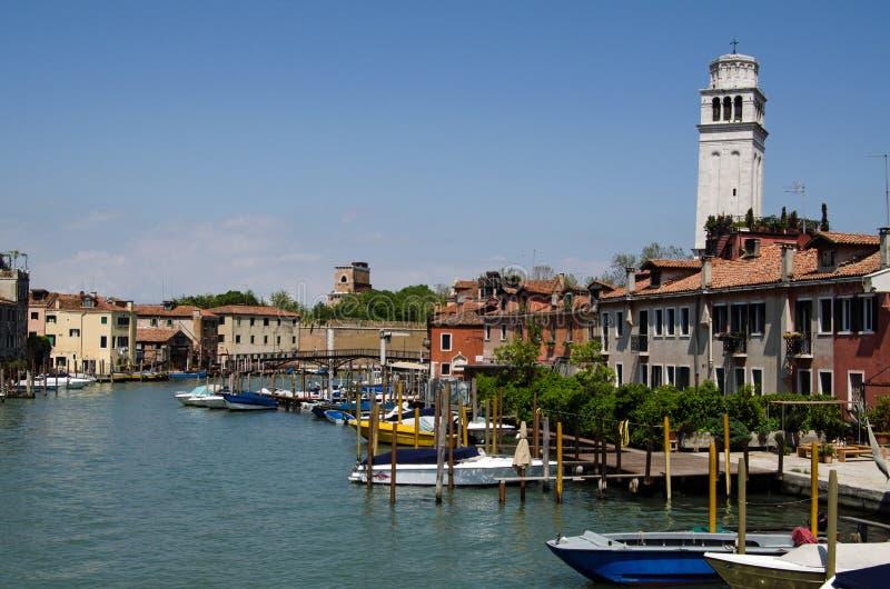 卡纳莱二圣彼得罗岛,威尼斯 免版税库存图片