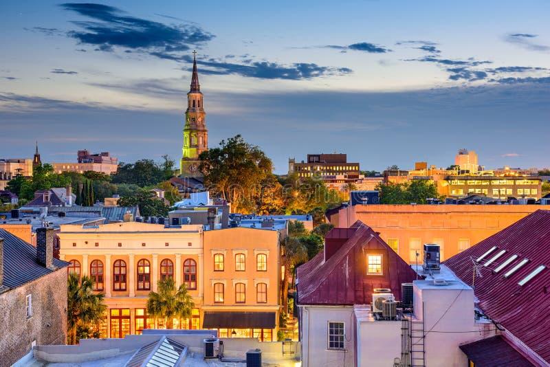 卡罗来纳州南的查尔斯顿 免版税图库摄影