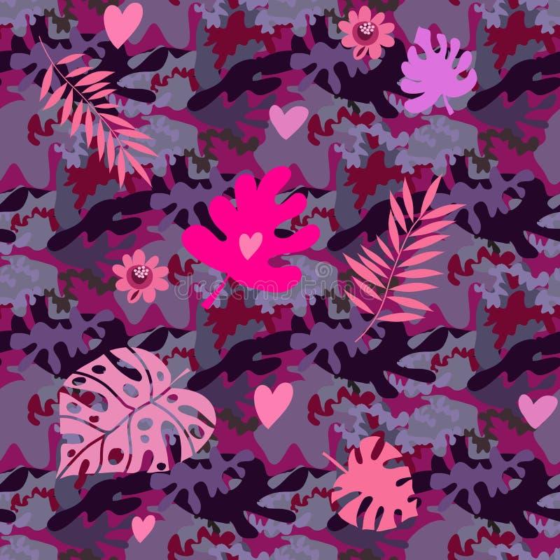 卡莫无缝的pattern36 库存例证