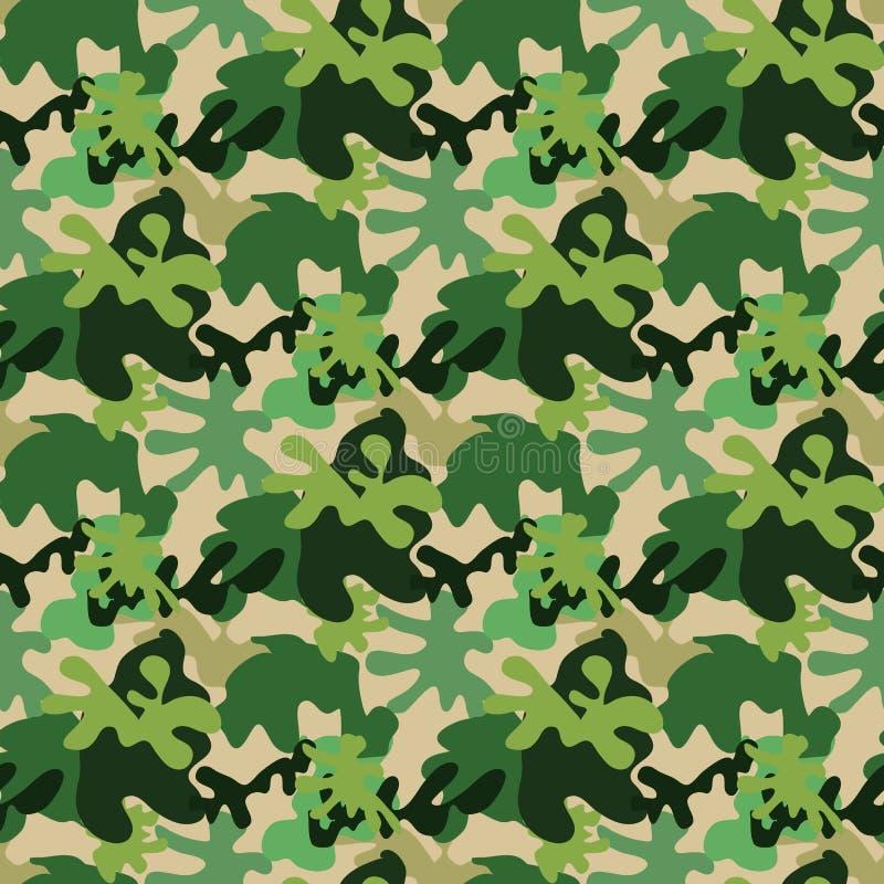 卡莫无缝的pattern4 库存例证