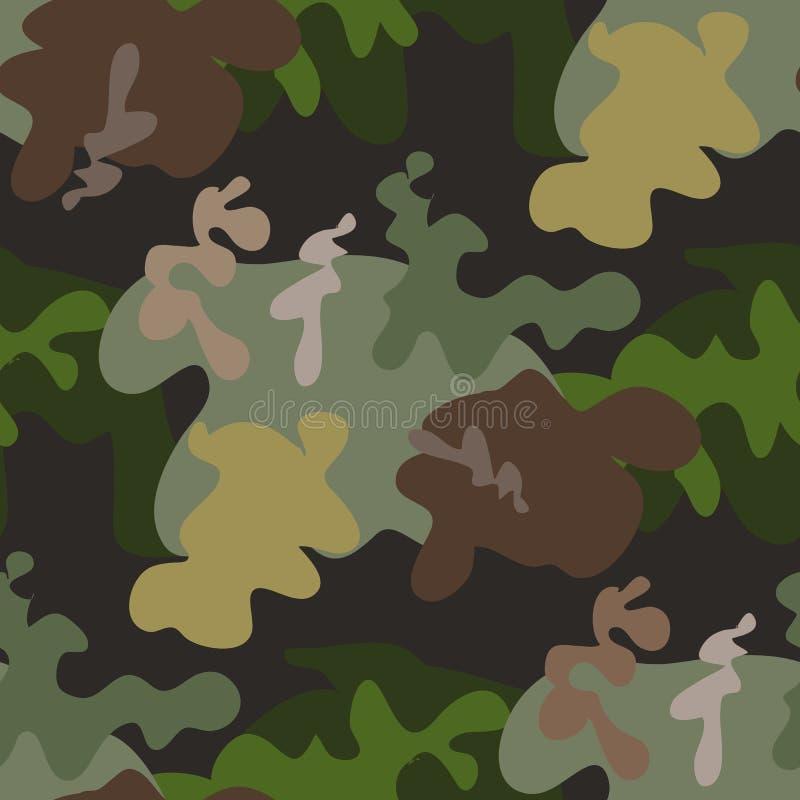 卡莫无缝的pattern6 库存例证