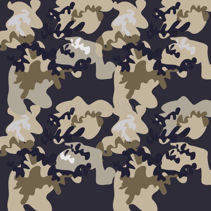 卡莫无缝的pattern73 皇族释放例证