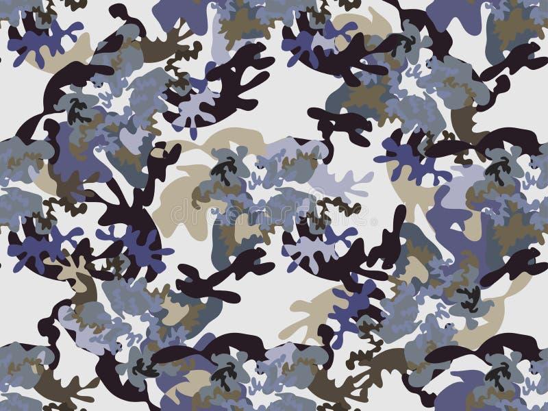 卡莫无缝的pattern66 库存例证