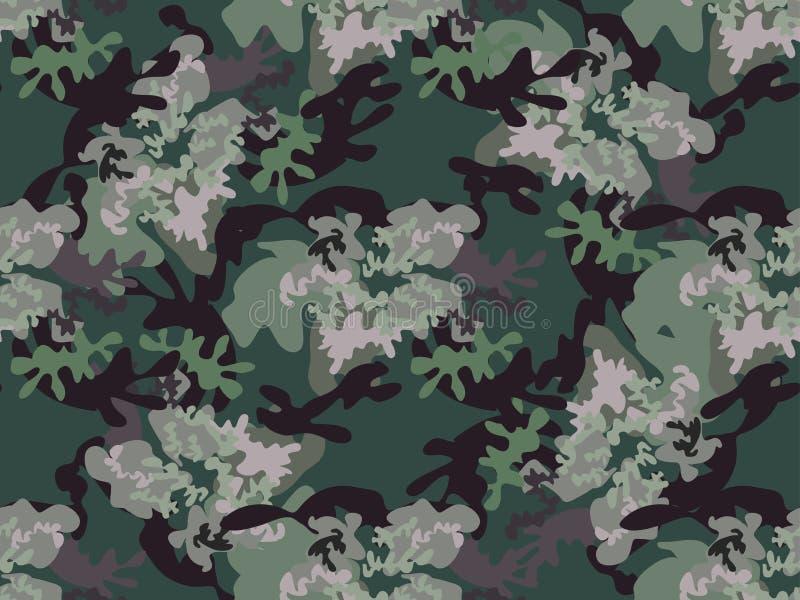 卡莫无缝的pattern68 向量例证