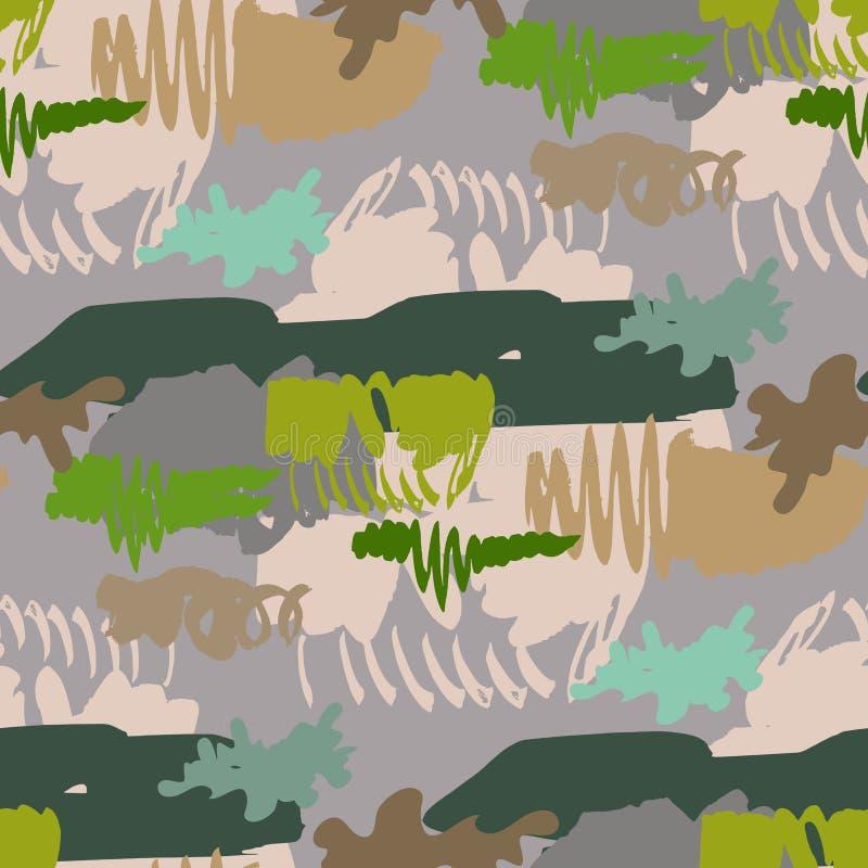 卡莫无缝的pattern57 皇族释放例证