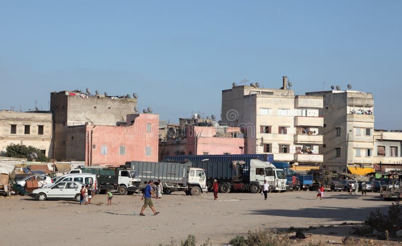 卡萨布兰卡,摩洛哥麦地那  免版税库存图片