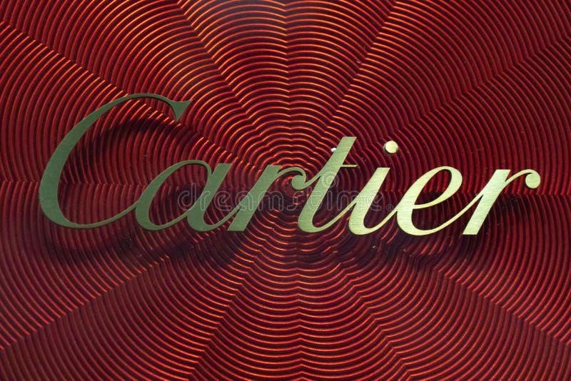 卡蒂尔标志 图库摄影