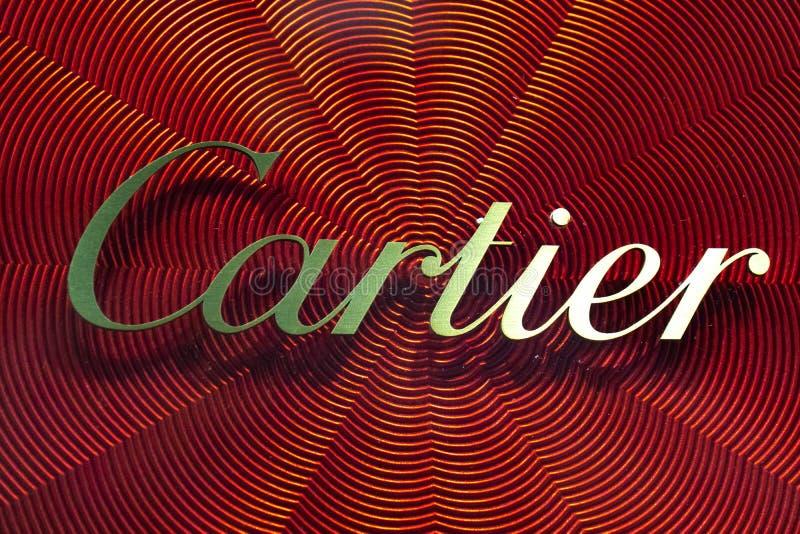 卡蒂尔标志 免版税库存照片