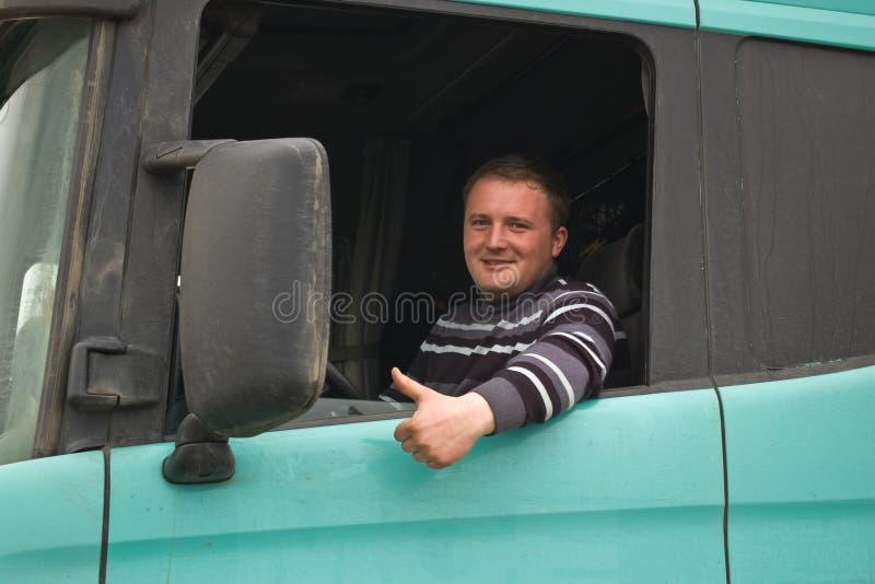 卡车司机 免版税库存图片