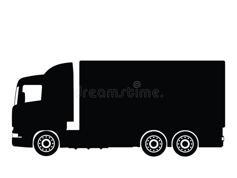 卡车向量 皇族释放例证