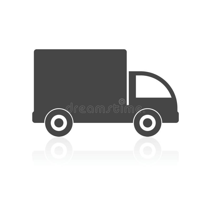 卡车象 库存例证