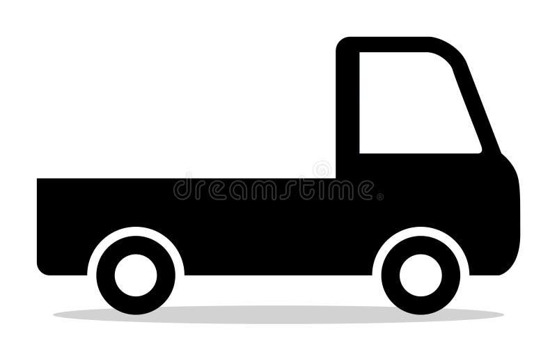 卡车象 皇族释放例证