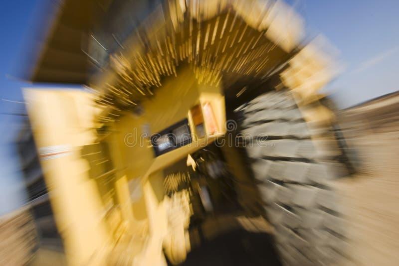 卡车迅速移动 免版税库存照片