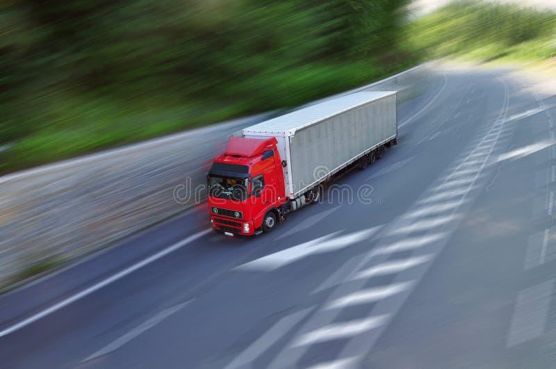 卡车货物 免版税库存照片