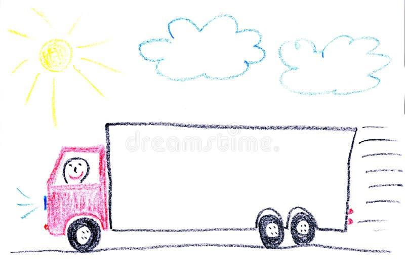卡车 皇族释放例证