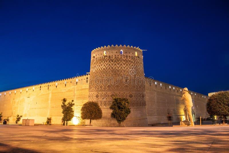 卡里姆汗城堡 库存照片
