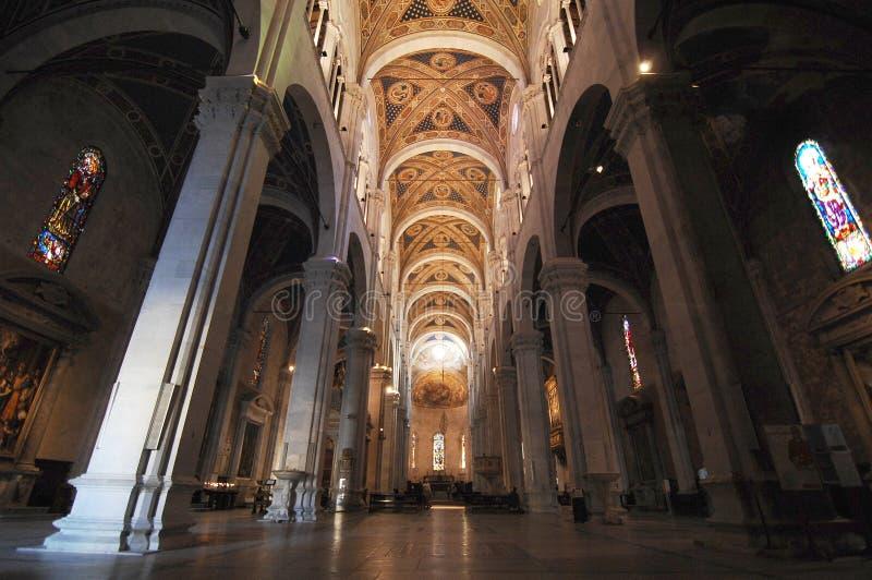 卢卡的大教堂 免版税图库摄影