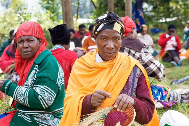 卢旺达的人工制品 免版税库存照片