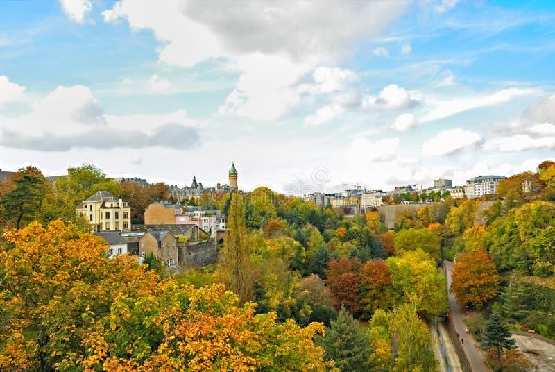 卢森堡市 库存图片