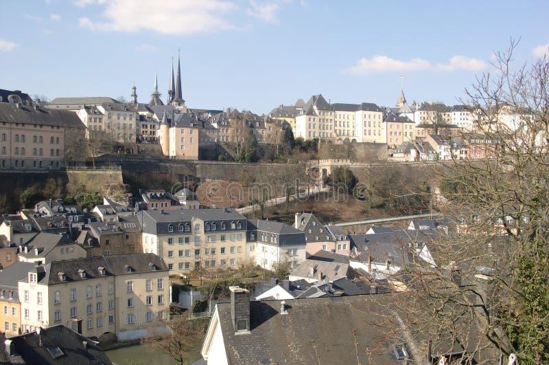 卢森堡 库存图片