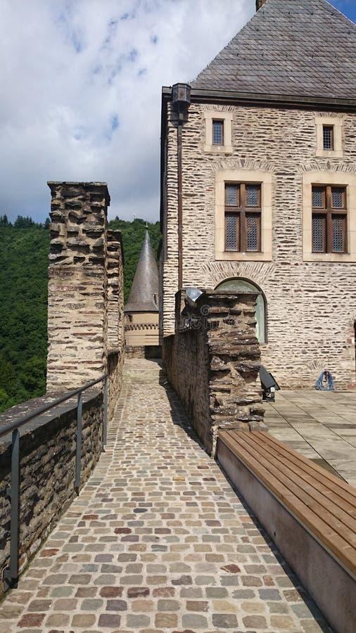 卢森堡Vianden 免版税库存照片
