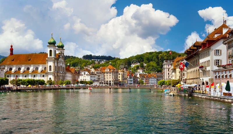 卢赛恩,瑞士 免版税库存图片