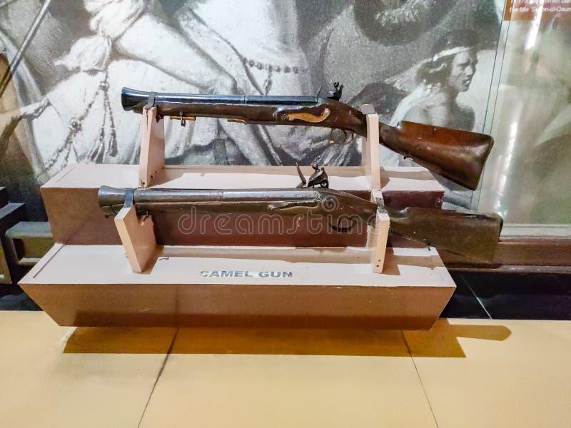 卢迪亚纳战争博物馆 2019年8月16日,印度卢迪亚纳 库存照片