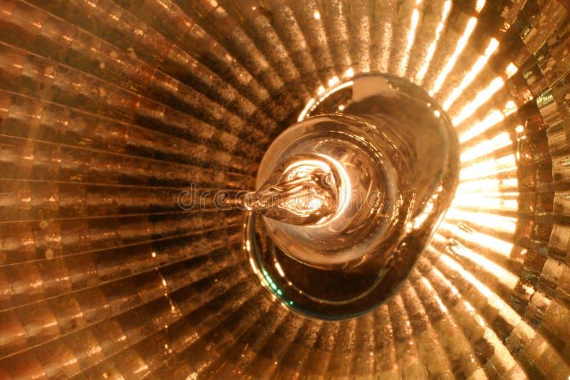 卤素宏指令聚光灯 库存照片