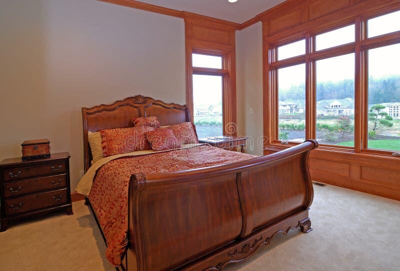 卧室客户 免版税库存照片