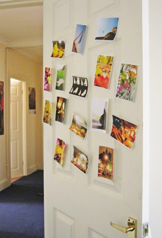 卧室室门 免版税库存图片