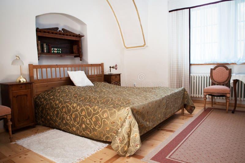 卧室旅馆客房 免版税图库摄影
