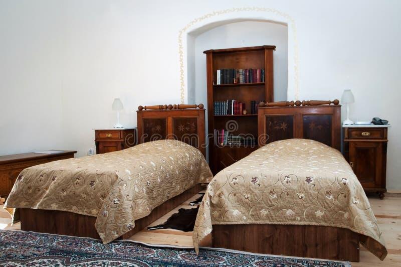卧室旅馆客房 库存图片