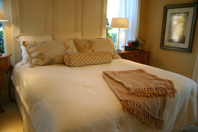 卧室装饰 库存照片