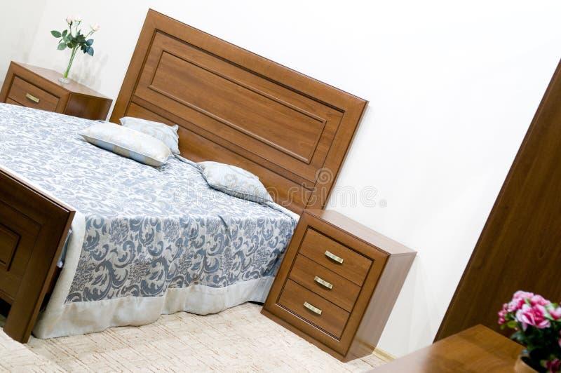 卧室设计内部现代充满活力 库存图片