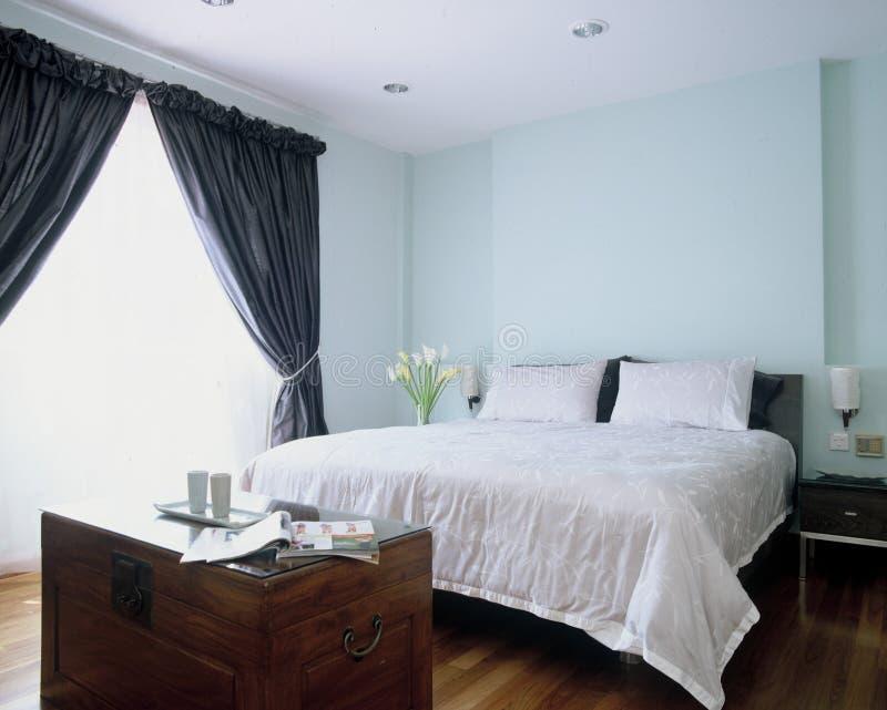 卧室重要资料 免版税库存照片