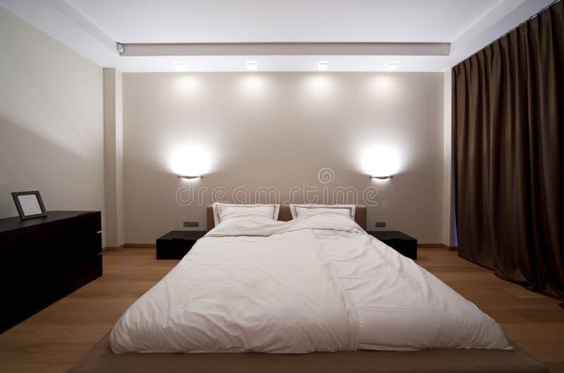 卧室 免版税库存照片