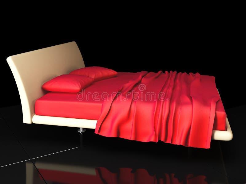 卧室 向量例证
