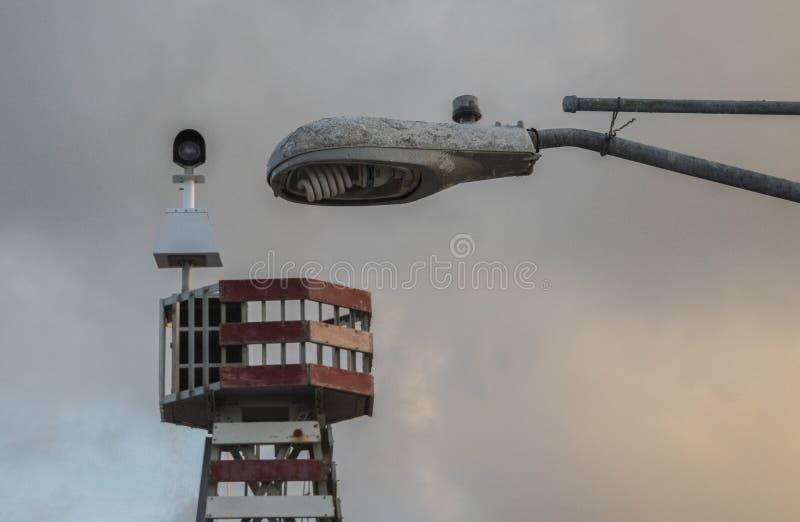 卫兵的塔楼 库存图片