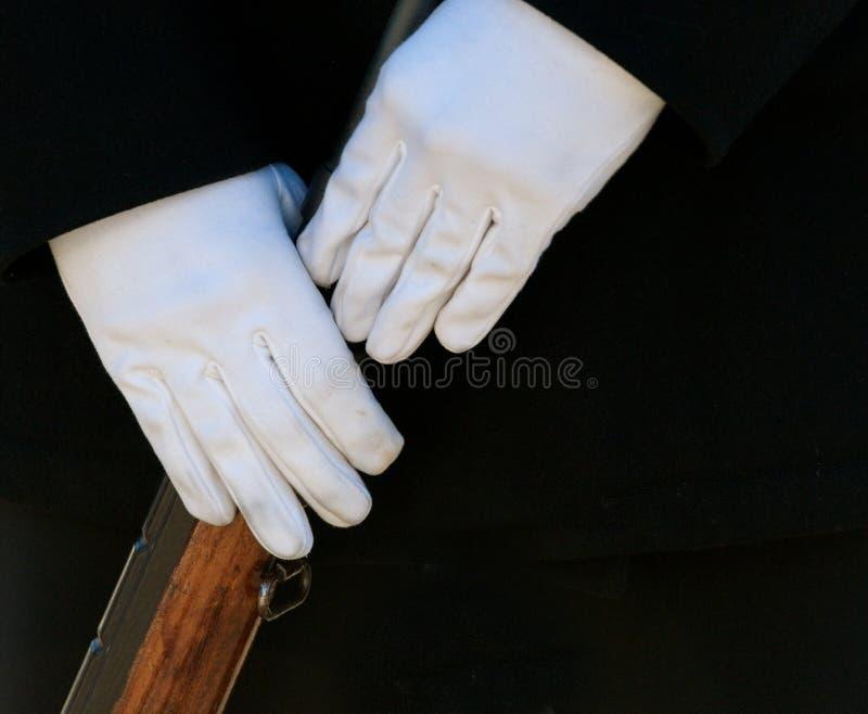 卫兵荣誉称号军人 免版税库存照片