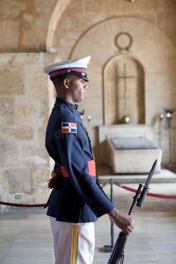 卫兵荣誉称号国民万神殿 库存照片