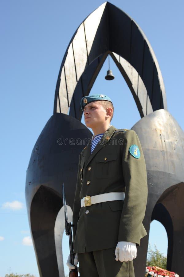 卫兵荣誉称号 库存图片