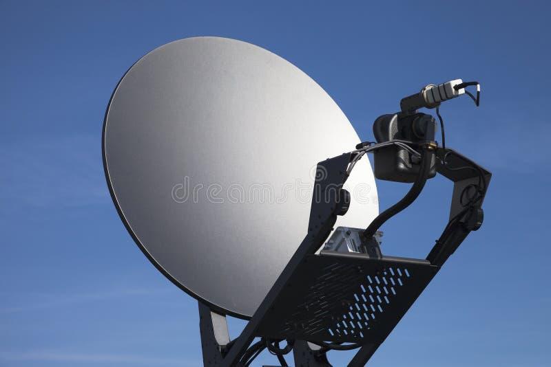 卫星盘。 免版税库存图片