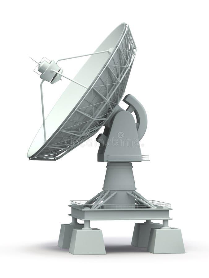 卫星盘。 Communiation。 皇族释放例证