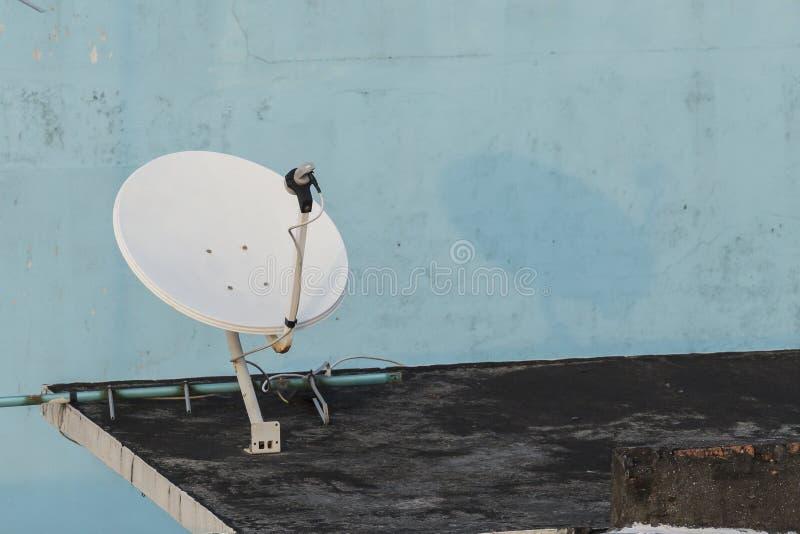 卫星盘 库存图片