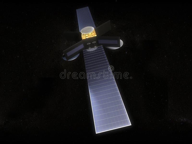 卫星 向量例证