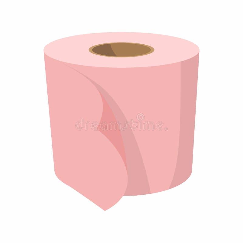 卫生纸动画片象 向量例证