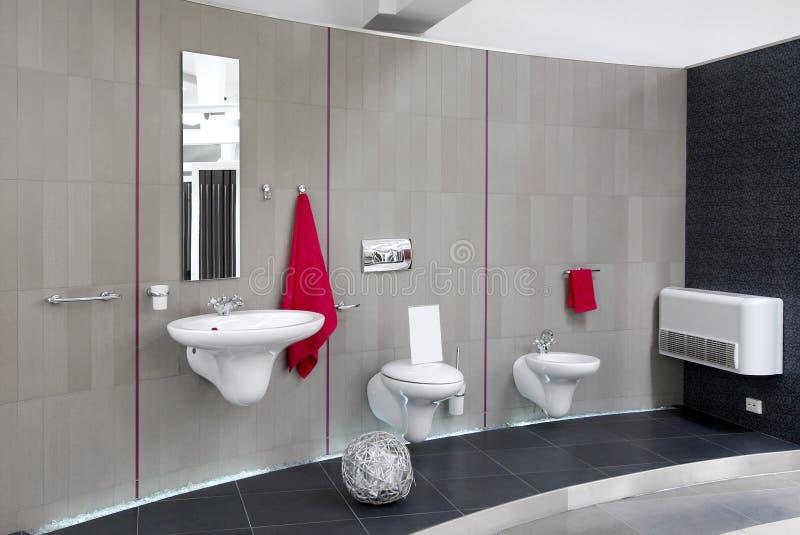卫生间内部现代 库存照片