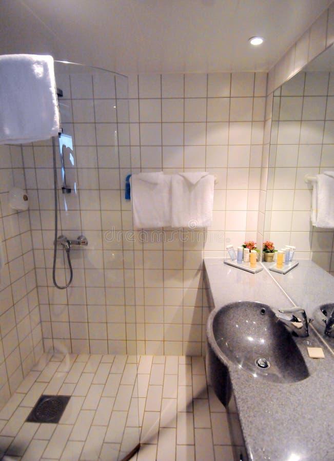 卫生间内部 库存照片