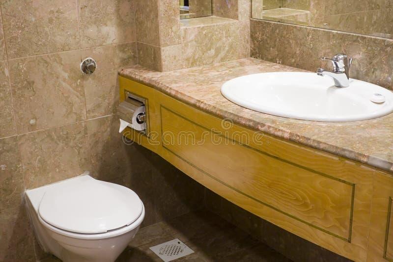 卫生间旅馆 库存图片