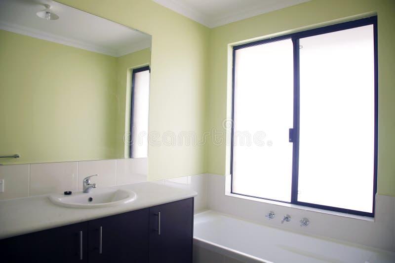 卫生间绿色 库存照片